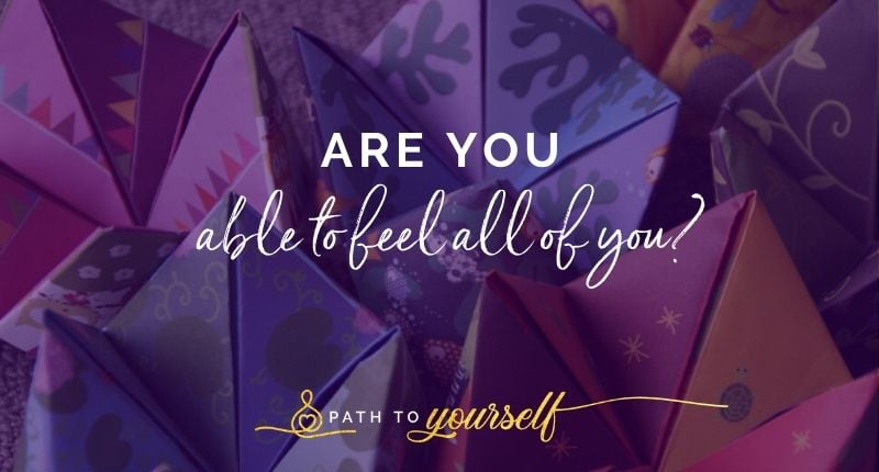 Are You Able To Feel All Of You